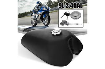 Motorcycle Cafe Racer Vintage Fuel Gas Tank With Tap Fit For Honda CG125 AA001