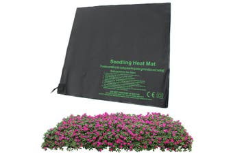 52x52cm Propagation Seedling Heat Mat Seed Starter Cloning Warm Pad Germination