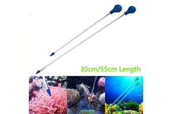 Marine Acrylic Coral Feeder Tube Liquid Feeding Marine Reef Tank Aquarium # 55cm
