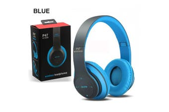 bluetooth 5.0 Headphones Over Ear Hi-Fi Stereo Wireless Headset Foldable Colorful 7LEDs Light Built-in Mic for Travel Work Outdoor Music Player TV Cell Phones Tablets Laptop PC Computers