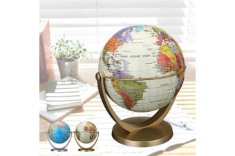 4.2'' 10.6cm 360° RotatingRotating World Map Globe Earth Geography Educational Toy Desk Decor