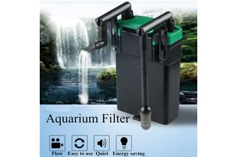 External Hang On Filter Surface Skimmer Aquarium Fish Tank Oil Film Remover 220V # LBL-802