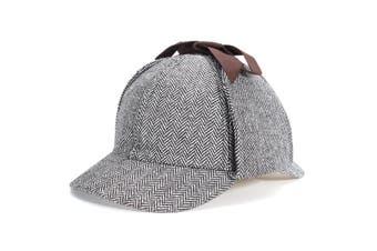 Unisex Men Women Sherlock Holmes Cosplay Deerstalker Hats Cosplay Hunting Caps