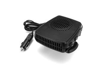 12v 2 In 1 200w Car Fan Heater Cooling Fan Windscreen Demister Defroster