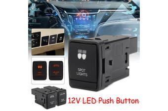 Dual LED Light Bar Push Botton Switch ON-OFF For Nissan NP300 Navara(Rear Lights)