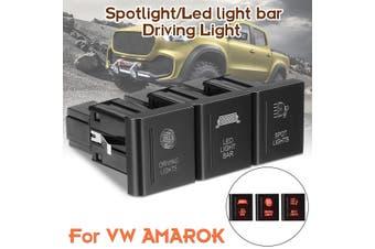 LED Light Bar/Spot Light/Driving Light LED Push Switch Left Side For VW For AMAROK(Spot Light)