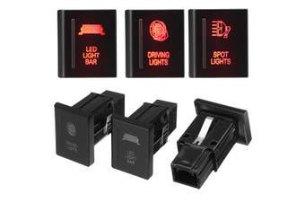 LED Light Bar/Spot Light/Driving Light LED Push Switch Left Side For VW For AMAROK(Left LED Light Bar)