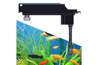 Aquarium Fish Tank Upper Box Filter System w/ Submersible Water Pump 500-1100L/H # GD-600