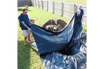 Fish Pond Liner Gardens Landscaping Pools PVC Membrane Reinforced 20Yrs # 3*2.5m