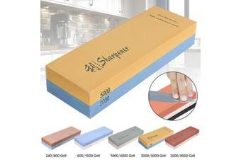 240/800 600/1500 1000/4000 2000/5000 3000/8000 Grit Sharpening Water Stone Dual Whetstone