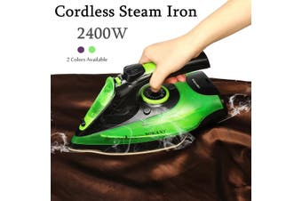 Cordless Steam Iron Multifunction Docking Station Wireless Dry Ironing