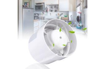 5'' Inline Duct Fan Booster Exhaust Ventilator Ventilation Hydroponic Vent