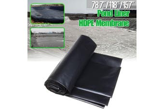 4x4m Fish Pond Liner Gardens Pools HDPEMembrane Reinforced Landscaping