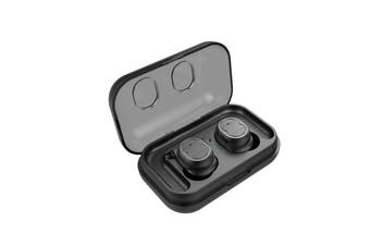 Waterproof Bluetooth 5.0 Earphone,Heavy Bass Sport Truly Wireless Earbuds Earphones Headset Stereo Headphones With Charging Box NEW