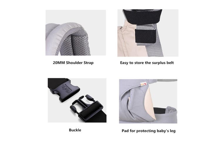Multi-functional Four Position Infant 360 Baby Carrier Breathable All Seasons
