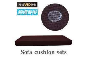 3Seaters Waterproof Thickening Stretchy Sofa Seat Cushion Cover Couch Cushion Mat Replacement Protector