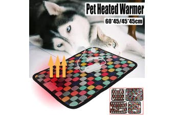 45*45cm Waterproof Pet Dog Cat Puppy Electric Heated Pad Bed Mat Heating Whelping Box