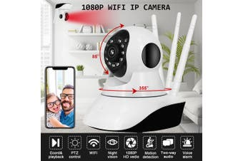 WIFI 1080P ONVIF P2P Outdoor Wireless I R Cut Security IP Camera Night Vision AU/EU/US Plug