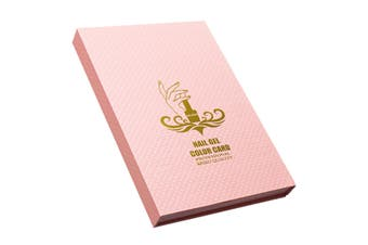 Nail Gel Polish Kit 180 Colors Nail Color Art Guide Display Card Board Book Tips