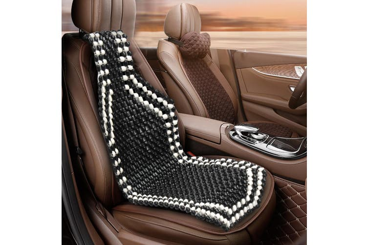 WOODEN BEAD/BEADED CAR/TAXI/VAN FRONT SEAT COVER/CUSHION