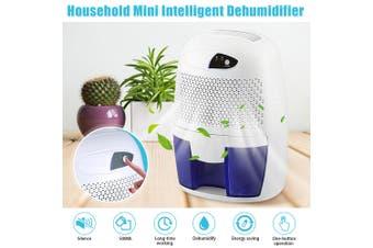 500ML Portable Mini Dehumidifier Electric Quiet Air Dryer for Home Bathroom (AU Plug)
