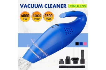 120W 4000PA Cordless Home Car Vacuum Cleaner Wet And Dry Portable Rechargeable