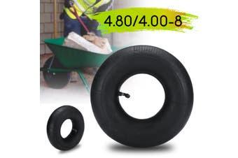 4.80 / 4.00 - 8 Inner Tube Bent Air Valve For Pneumatic Wheel Trolley Wheel Natural Rubber