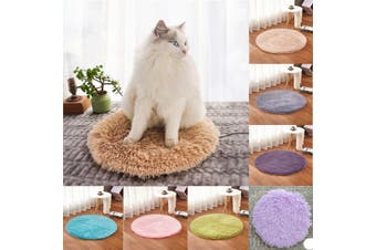 40CM Pet Heating Warmer Blanket Bed Pad Puppy Dog Cat Electric Heater Mat USB Brown