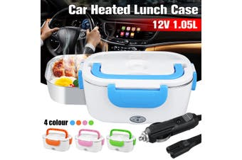 12V 1.05L Portable Car Electric Heated Lunch Box Food Warmer Container Winter