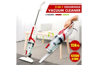 600W 15000PA Handheld Upright Stick Vacuum Cleaner HEPA Lightweight Household