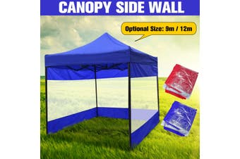 9/12m Sun Shade Side Walls Screen Panel Gazebo Canopy Shelters For 3x3x2m Tent