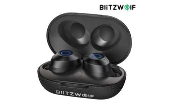 BlitzWolf BW-FYE5 TWS bluetooth V5.0 Earphone Mini True Wireless Bilateral Call Stereo Headphone with Charging Box School Supplies Gifts