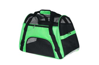 Pet Puppy Cat Dog Carrier Shoulder Bag Travel Carry Pouch Handbag Backpack Green