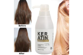 PURE Keratin Straightening 12% Treatment Hair Care Repair Healing 300ml