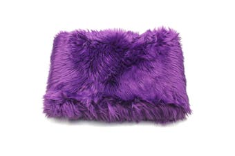 70x180cm Shaggy Fluffy Area Rug Faux Fur Fake Wool Carpet Floor Mat Cushion Pad