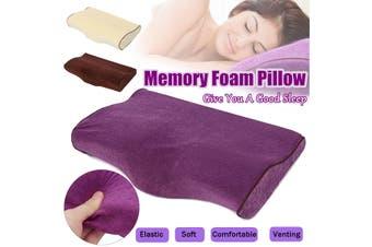 Pro Eyelash Extension Memory Foam Pillow Soft Grafted Eyelashes Salon Office Use(purple)