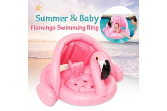 Baby White Swan Flamingo Infant Inflatable Swimming Aid Trainer Seat Ring Water