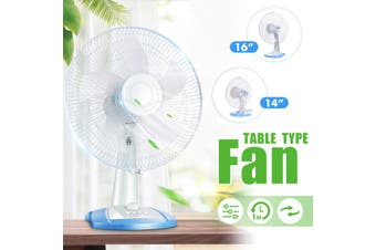 220V 14''/16'' Timing Low Noise 3 speeds Desktop Table Cooling Fan Adjustment