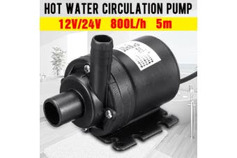 DC 24V 800L/h 5m Solar Hot Water Circulation Booster Pump Heating System