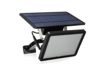 18W 48 LED 1000LM IP65 Waterproof Polysilicon Solar Power Light Security Sensor Street Light Human Body Sensing Black Shell