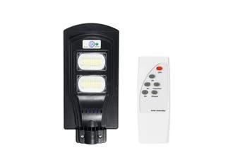 90W 96LED Solar Street Light Motion Sensor Outdoor Garden Wall Lamp + Remote