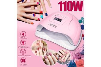 SUN X5 Plus 110W 36 LED UV Lights Nail Lamp Dryer Gel Polish Curing Machine