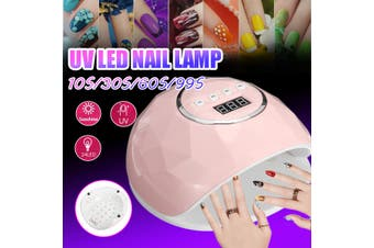 110W Max 10s/30s/60s/99s Timmer UV Lamp LED Lamp Phototherapy Machine for Nails Nail Dryer Art Fashion Tools