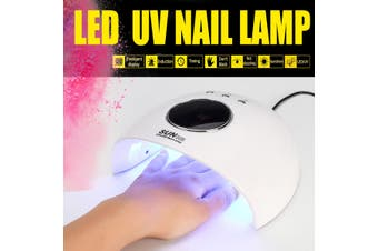 [12LED 120W With Timers] SunX28 Smart Infrared Sensor UV LED Nail Dryer Lamp Gel Polish Curing Timing Manicure Machine 30/60/90S USB