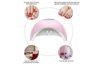 2-IN-1 UV LED Lights Nail Lamp Dryer LCD display 120W 12 LEDs Timers Gel Polish Manicure Machine Hand Care USB Rechargable