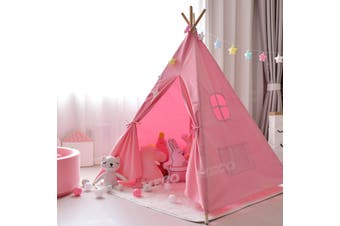 Kids Teepee Play Tent Princess Castle Girls Childrens House Indoor Outdoor