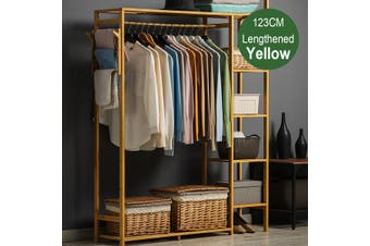 Heavy Duty Cabinet Coat Rack Closet Cloth Garment Hanger Holder Stand Organizer