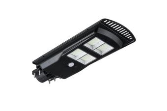 150W 384 LED Solar Powered Wall Street Lights Waterproof IP67 Lamp Light Control+Remote Control + Human Body Induction Outdoor Garden Lighting