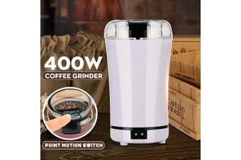 400W 220V Electric Coffee Bean Grinder Herbs Spices Nuts Grinding Mill Machine With Stainless Steel Blade European version