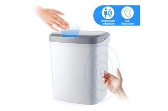 auto-induction+Knock sensorSmart trash can living room bedroom home induction vibration beat open trash can custom